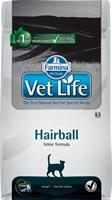 Корм Vet Life Cat Hairball 400 g с курицей   для взрослых  кошек для выведения шерстяных  комочков
