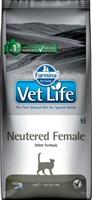 Корм Vet Life Cat Neutered Female 2kg/ для взрослых  стерилизованных кошек