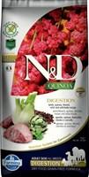 Корм ND DOG GF Quinoa Digestion Lamb, 7 kg/для взрослых собак с ягненком, ЖКТ, 7 кг