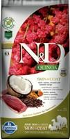 Корм ND DOG GF Quinoa Skin&Coat Duck, 7 kg/для взрослых собак с уткой, уход за кожей и шерстью, 7 кг
