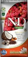 Корм ND DOG GF Quinoa Skin&Coat Herring, 7 kg/для взрослых собак с сельдью, уход за кожей и шерстью, 7 кг