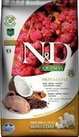 Корм ND DOG GF Quinoa Skin&Coat Quail, 2,5 kg/для взрослых собак с перепелкой, уход за кожей и шерстью, 2,5 кг