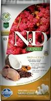 Корм ND DOG GF Quinoa Skin&Coat Quail, 7 kg/для взрослых собак с перепелкой, уход за кожей и шерстью, 7 кг