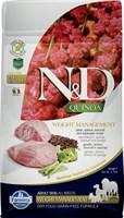 Корм ND DOG GF Quinoa Weight Management Lamb, 800 g/для взрослых собак с ягненком, контроль веса, 800 г