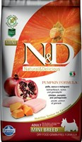 Корм ND DOG Pumpkin Chicken & Pomegranate Adult MINI 7 kg/ курица с гранатом для взрослых собак