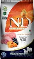 Корм ND DOG Pumpkin Lamb & Blueberry Adult Medium&Maxi , 2,5 kg/ ягненок с черникой для взрослых собак