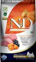 Корм ND DOG Pumpkin Lamb & Blueberry Adult MINI, 2,5 kg/ ягненок с черникой для взрослых собак