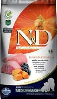 Корм ND DOG Pumpkin Lamb & Blueberry PUPPY Medium&Maxi, 2,5 kg/ ягненок с черникой для щенков
