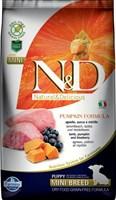 Корм ND DOG Pumpkin Lamb & Blueberry PUPPY MINI 800 gr/ ягненок с черникой для щенков